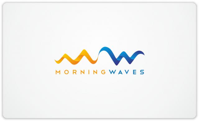 Morning Waves logo