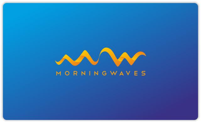 Morning Waves orange version