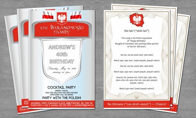 Andrew's Birthday Party invitation