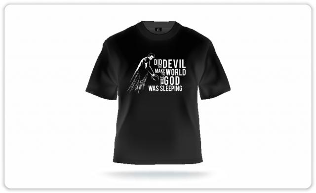 T-shirt with Tom Waits