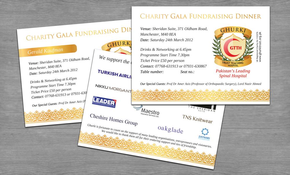 Invitations For Ghurki Hospital Events Natalia Sutkiewicz