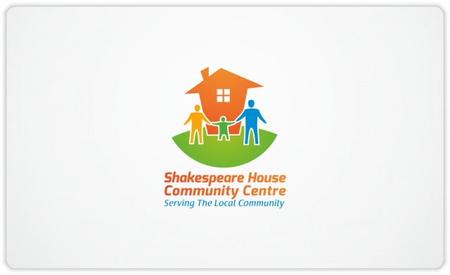 Shakespeare House Community Centre logo vertical