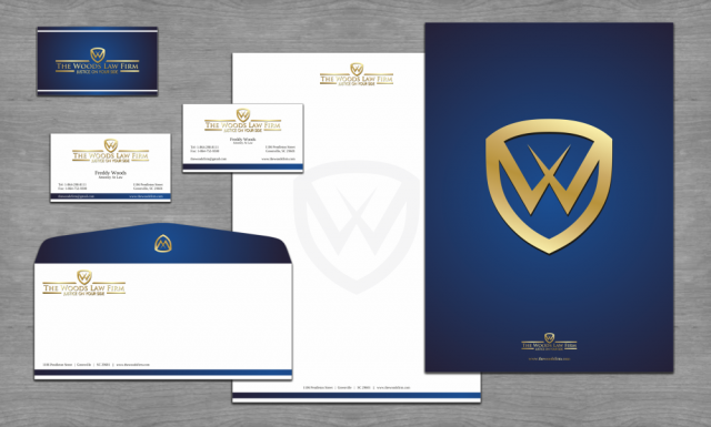 The Woods Law Firm Stationery