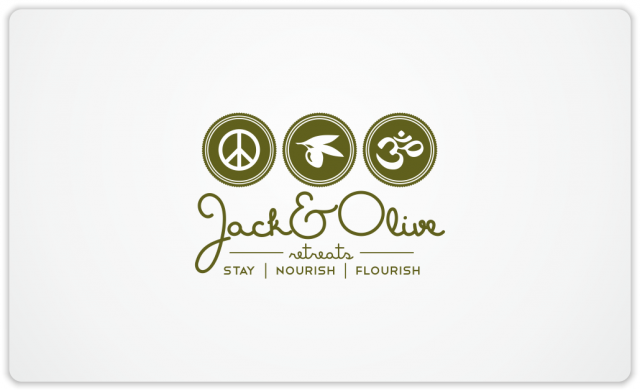 Jack&Olive Retreats logo