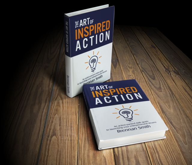 The Art of Inspired Action - book cover