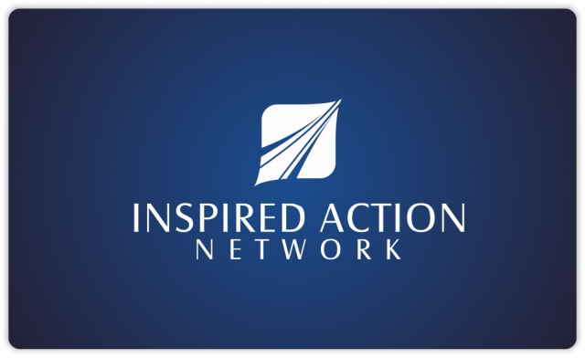 Inspired Action Network single color logo