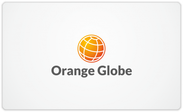Orange Globe for The Global Executive