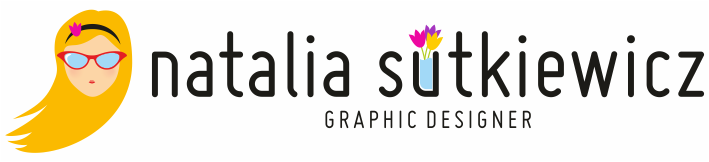 Natalia Sutkiewicz - Graphic Designer Portfolio. Logo, Business Cards, Stationery.