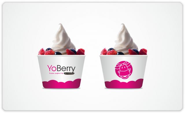 YoBerry Yoghurtis cups