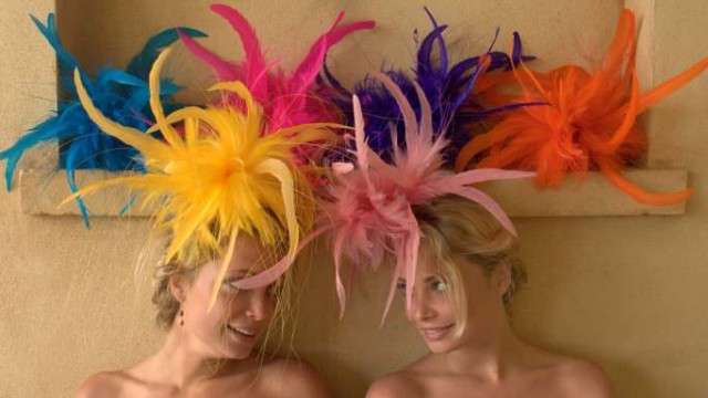Vivid fascinators from Jemma Loveridge