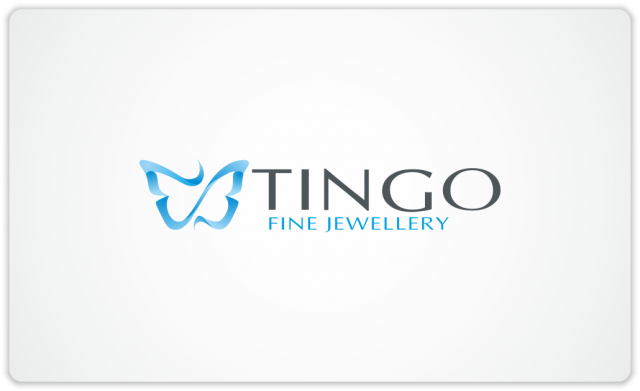 Tingo blue butterfly logo