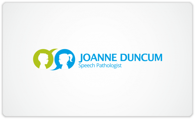 Joanne Duncum Speech Pathologist logo horizontal