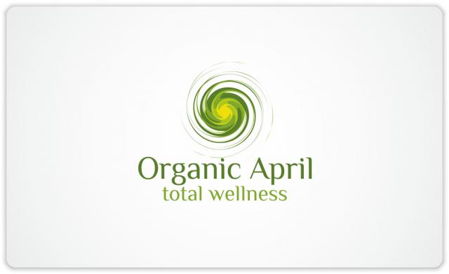 Organic April logo